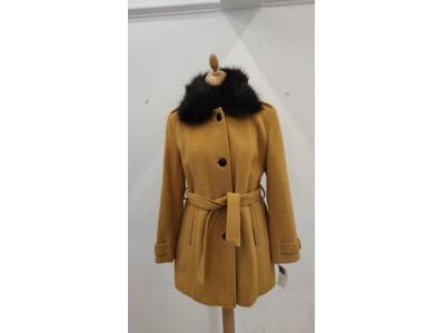 kabát s odpínací kožešinou 1927