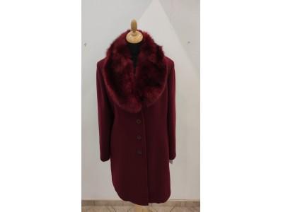 kabát s odpínací kožešinou 1932
