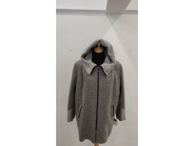 kabát s kapucí na zip1937