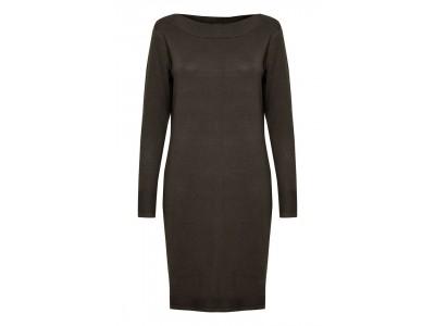 Dámské šaty fransa 20608517/brown