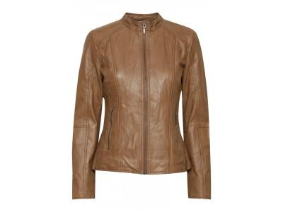 Dámská kožená bunda fransa 20609589